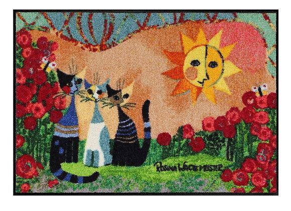 Giardino delle rose (120x75) - tappeto/zerbino Rosina Wachtmeister