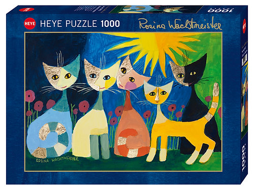 Colorful company - puzzle Rosina Wachtmeister
