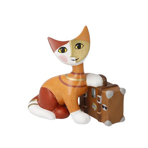 Villeggiatura - gatto in porcellana Rosina Wachtmeister