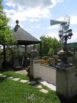 Il giardino di S. Sebastiano, il mulino a vento
