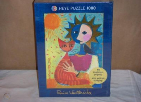 Theatre cat - puzzle Rosina Wachtmeister