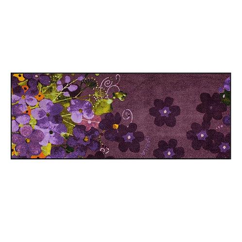 Maggio viola (190x75cm) - tappeto/zerbino Gabila