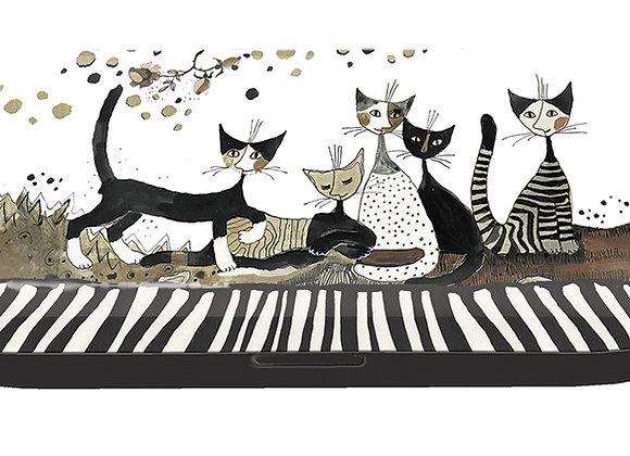 "Portaocchiali ""Cats seppia"" Rosina Wachtmeister Fridolin"
