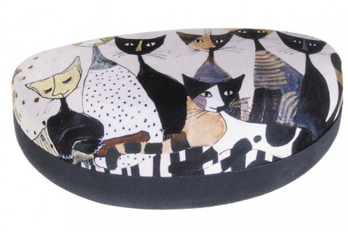 Porta occhiali rigido King size Cats Sepia Rosina Wachtmeister