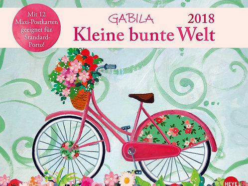 Gabila calendario cartoline 2018