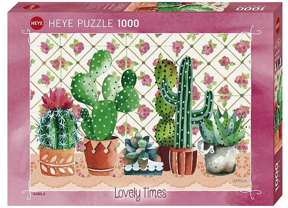 Cactus family - puzzle Gabila