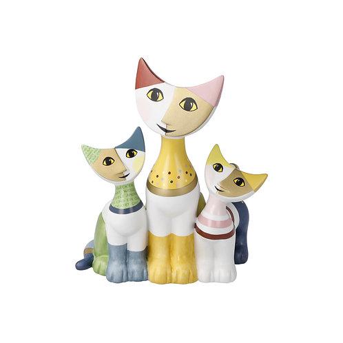 Famiglia felice - gatti Rosina Wachtmeister