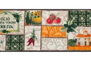Tuscany patchwork (190x75) - tappeto/zerbino Gabila
