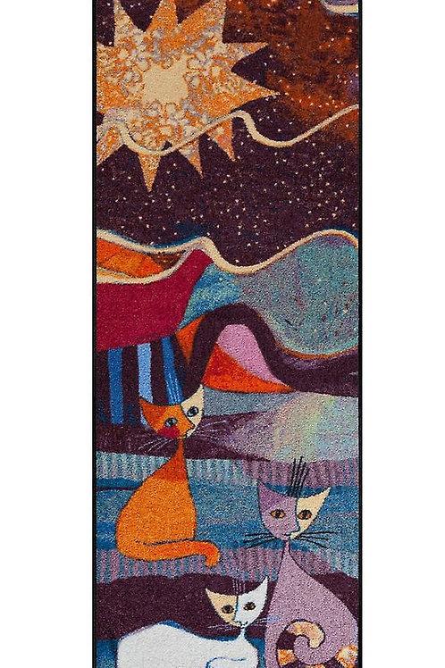 Le onde (190x75cm) - tappeto/zerbino Rosina Wachtmeister
