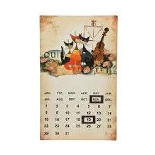 Musica romantica - calendario magnetico Rosina Wachtmeister