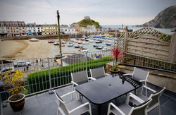 The Terrace overlooking the harbour