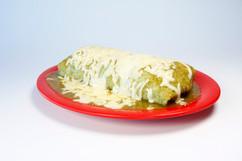 Wet Green Burrito