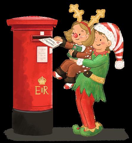 HAI Christmas Blog Spot Illustration - A