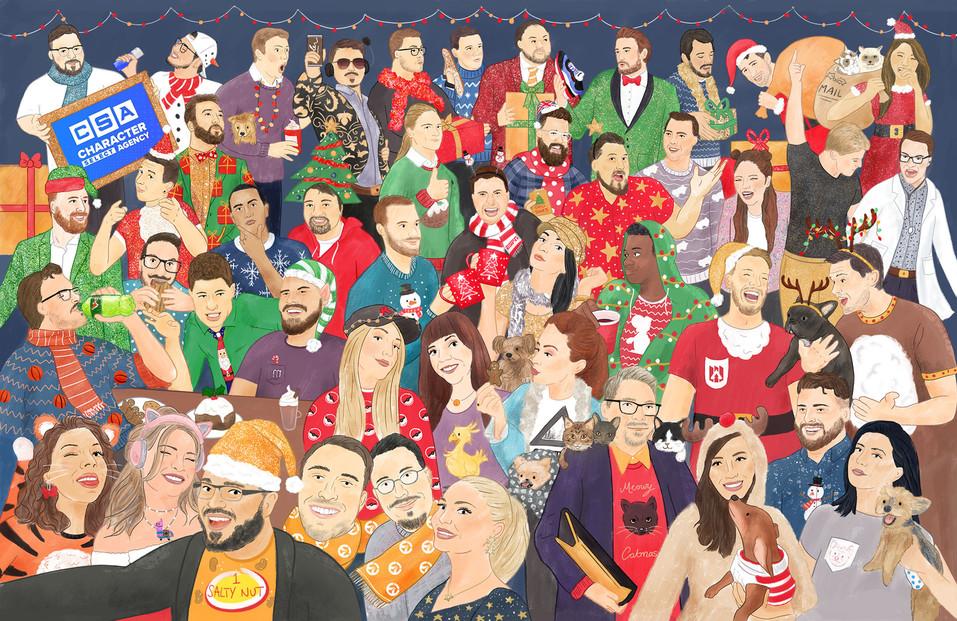 CSA Christmas Card 2019