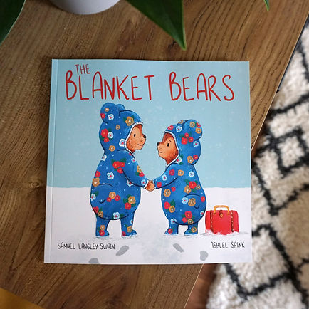 The Blanket Bears - Ashlee Spink Etsy