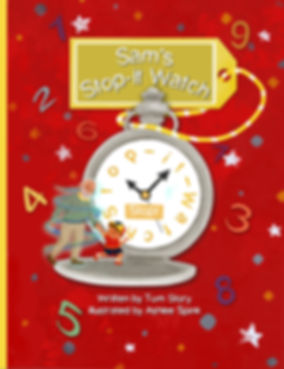Sams Stop-It Watch illustrate picture book cover