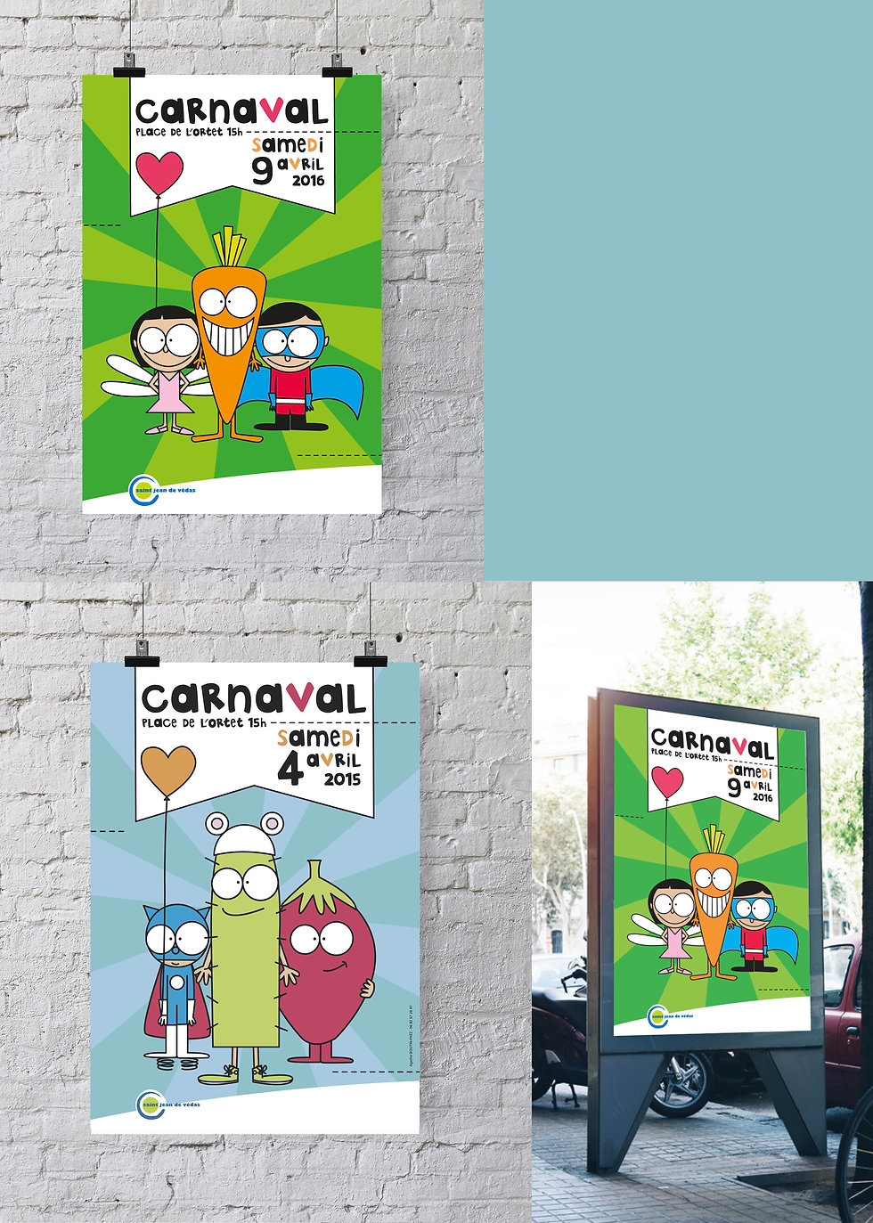 Affiche du Carnaval de Saint-Jean-de-Védas / septième PIXEL
