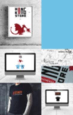 Identité visuelle OXBOW pour ouverture HONG KONG  / septième PIXEL.