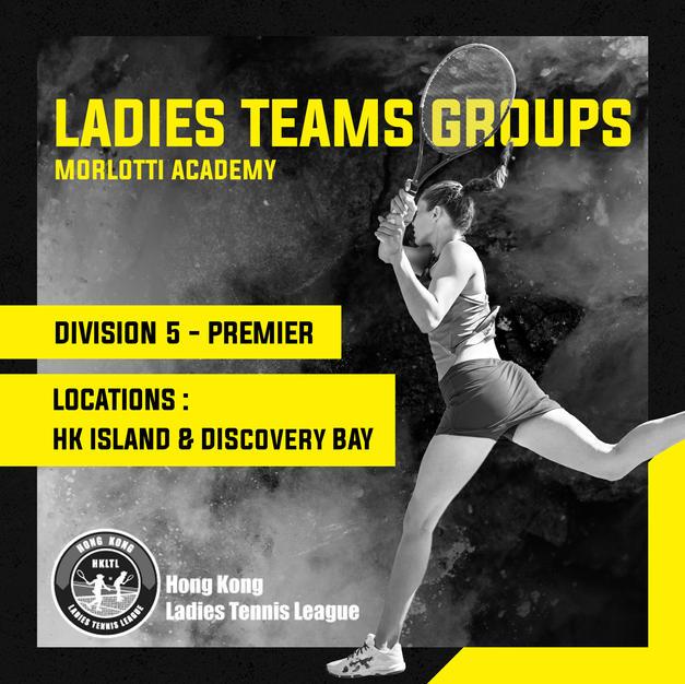 Ladies Teams Groups