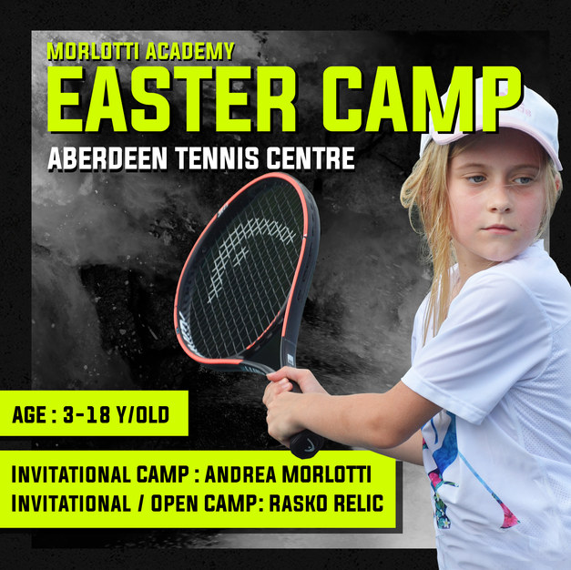 Easter Tennis Camp