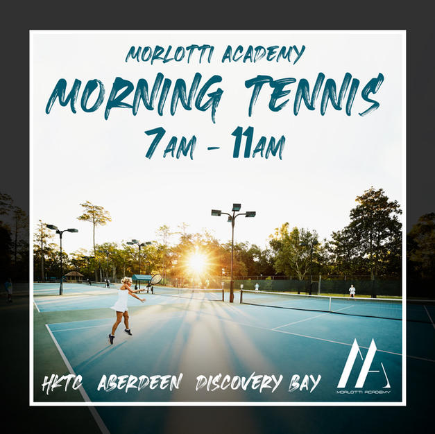 Morning Tennis Lessons