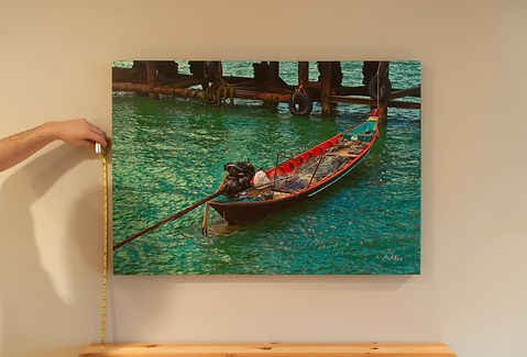 How To Hang Canvas Art In 3 Easy Steps Canvas Prints Canvas