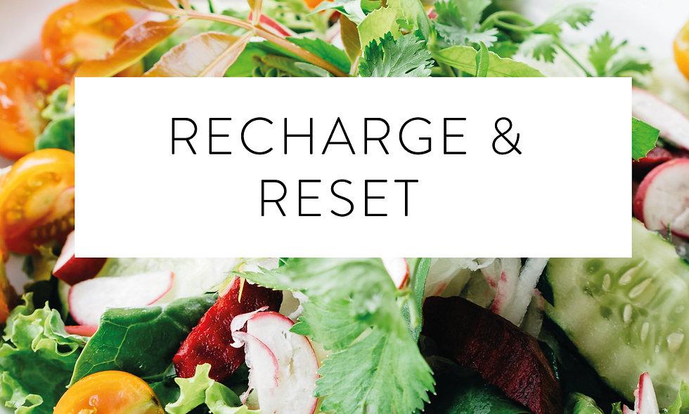 Recharge & Reset