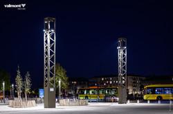 Mat tripode Duprat Tecso Eclairage Public Smart City