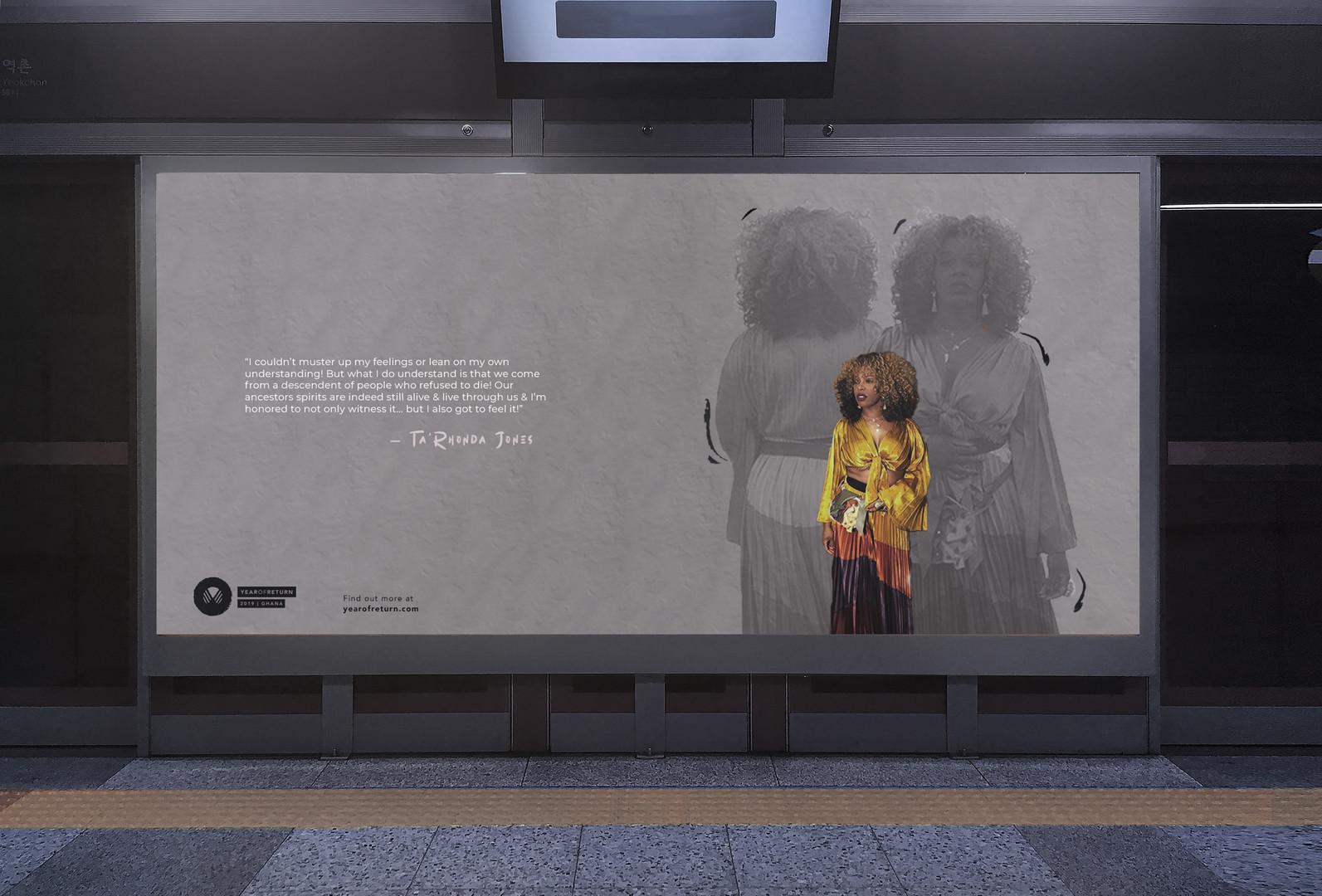 Year of return subway mockup Ta'Rhonda J