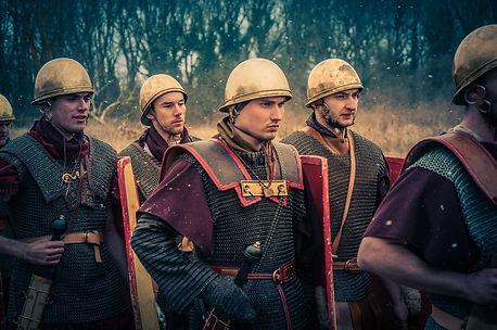 Legionnaires césrien pendant la guerre des Gaules