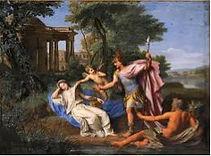 Mars et Rhéa, dieux romains
