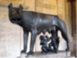 louve du capitole à Rome (Romulus et Remus)