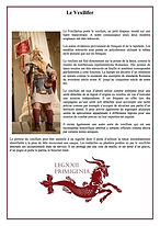 Le vexillifer romain en quelques mots