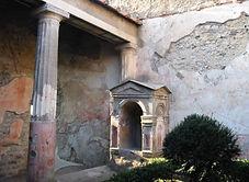 Laraire à Pompéi