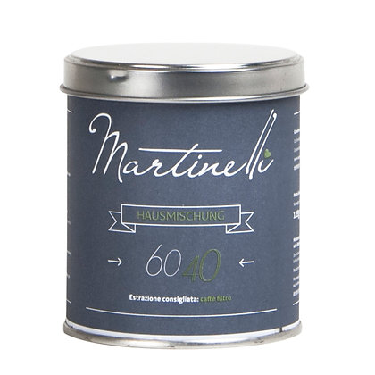 60/40 125g Filterkaffee gemahlen (39,60€/kg)