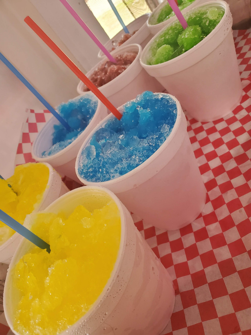 Snocones all day!