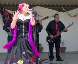 Angelica performing live