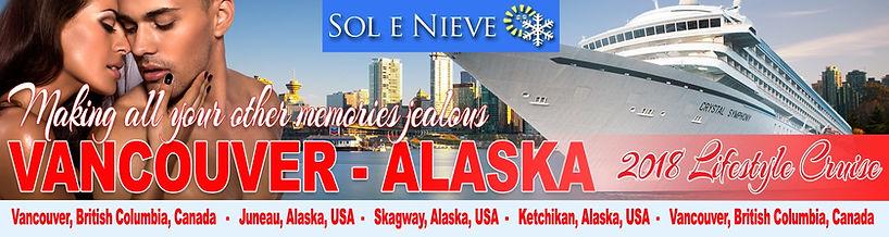 Navio Alaska 2018 - Casais liberais