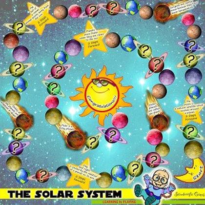 Board Game - Solar System