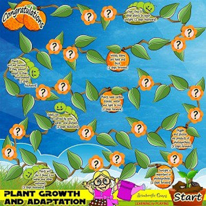 Board Game - Plant Growth & Adaptation