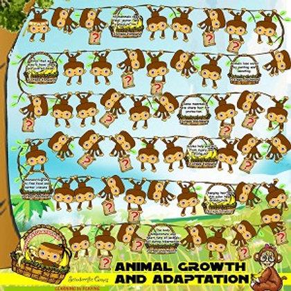 Board Game - Animal Growth & Adaptation