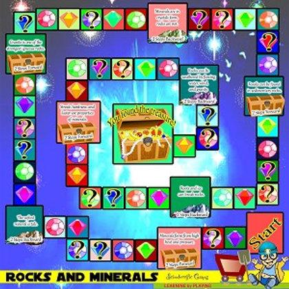 Board Game - Rocks & Minerals