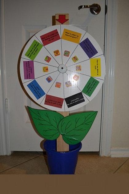 Restroom Pass/Tardy Wheel