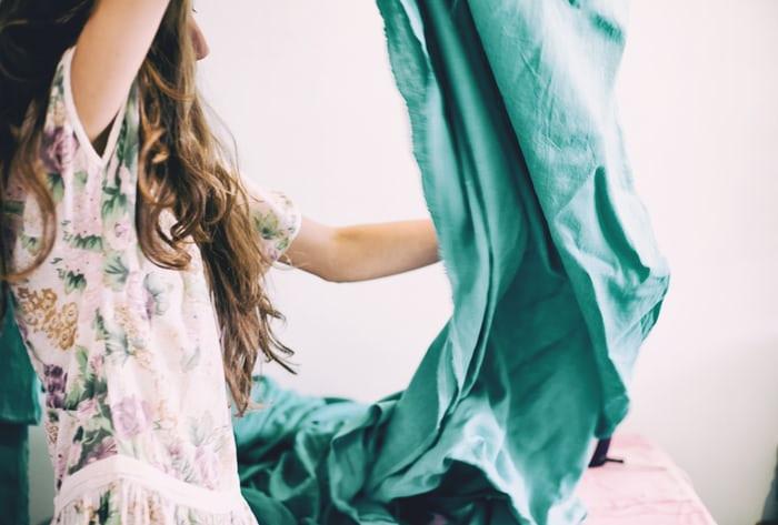 CLOTHING MANUFACTURERS UK | FABRIC FOLDING