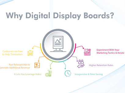 Here's How Digital Display Boards Are Vital to a Number of Industries