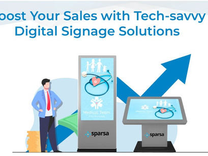 This is Why You Must Consider To Opt for Digital Signage Solutions