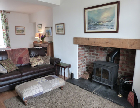 The Dower House - Fireplace