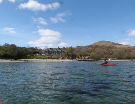 The Dower House - View from Kayak
