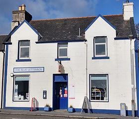 The Blue Letterbox - Port Ellen