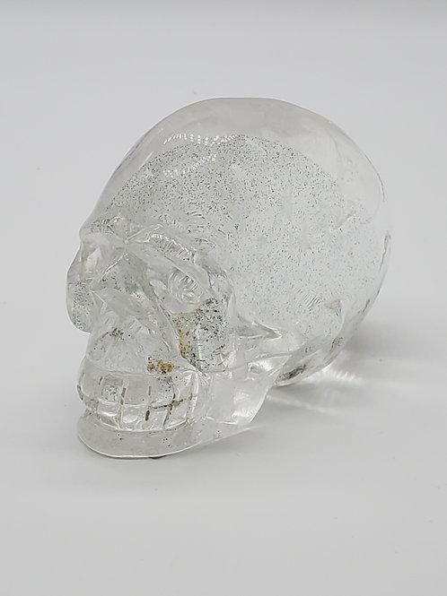 Clear Quartz Skull - Elongated